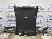 BMW 5 Series M Sport Black Roof Lining Head Liner Handles F10 8038177 23/9