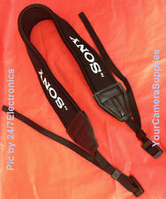 "NEOPRENE SHOULDER STRAP ""For SONY "" CAMERA DSC-HX300 DSC-HX300V HX 300 V NECK"