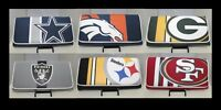NFL Women's Wallet Mesh Trifold Clutch Ladies Cardholder - Various Teams Avail