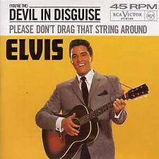 CD Single Elvis PRESLEY Devil in disguise 3-track CARD SLEEVE ☆