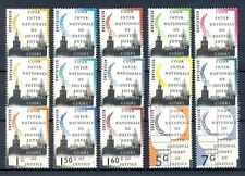 Netherlands   Cour de justice  stamps  complete set    mnh/postfris c