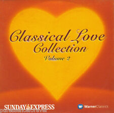 V/A - Classical Love Collection Volume 2 (UK 8 Tk CD Album) (Sunday Express)