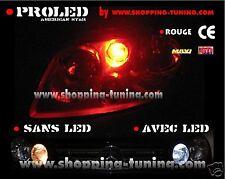 2 VEILLEUSES LED W5W ROUGE PEUGEOT 106 107 205 206 207