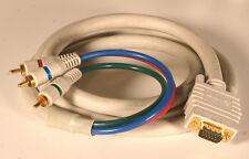 Cable - Python 6' long SVGA/VGA to Component TV