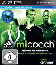 Sony ps3 PLAYSTATION 3 gioco *** Adidas miCoach (Move) *** Nuovo * NEW