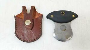 Knives of Alaska Magnum Ulu Skinning Hunting Knife w/ Leather Sheath