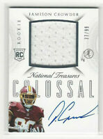 2015 National Treasures Colossal Rookie #d 77/99 #RCO-JC Jamison Crowder Auto RC
