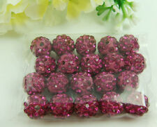 10mm Disco Ball Zircon Clay beads for shamballa Accessories charm Wholesale Lots