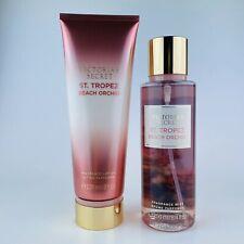 Victoria's Secret St. Tropez Beach Orchid Fragrance Lotion & Body Mist Set 8 oz