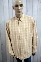 Camicia TIMBERLAND Uomo Shirt Casual Cotone Manica Lunga Chemise Taglia 2XL