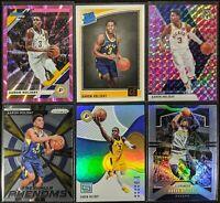 Lot of (6) Aaron Holiday, Including Donruss laser /50, Status/Donruss RC & Prizm