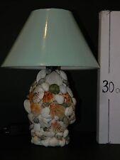 LAMPADA abat jour  CONCHIGLIE SEA  ARREDO casa mare HOME REGALO GIFT