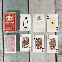 Vintage Pinguim Playing Cards Made In Brazil Penguin RARE Complete