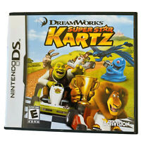 DreamWorks Super Star Kartz (Nintendo DS, 2011) Complete