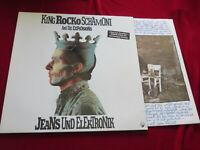 KING ROCKO SCHAMONI Jeans und Elektronik   1991 Orig.  Vinyl/Cover:excellent OIS
