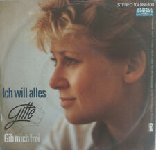 "7"" 1982 KULT ! GITTE : Ich will alles // MINT-`? \"