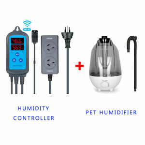 Inkbird Humidity Controller IHC-200 wifi Hygrometer wet + Reptile humidifier AU