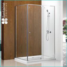 Shower Screen 1200 Modern Complete Set Sturdy Enclosure Tough Glass AU Standard