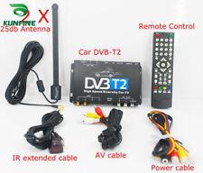 HDTV Car DVB-T2 DVB-T MULTI PLP Digital TV Receiver automobile DTV box Two Tuner