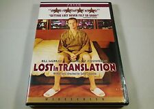 Lost in Translation Dvd Bill Murray, Scarlett Johansson