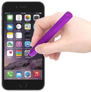 Purple Stylus Pen W/ Rubber Tip For Apple iPhone 7   7 Plus   6s   6s Plus