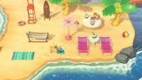 Outdoor Beach Set (18 items) Bells Towel Furniture -Animal Crossing New Horizons