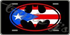 Puerto Rico batman License Plate