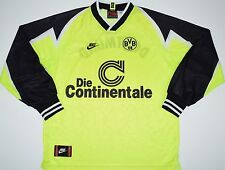 1995-1996 BORUSSIA DORTMUND NIKE HOME FOOTBALL SHIRT (SIZE L)