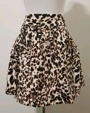 cb4e86059c Zara Animal Print Skirt Sexy Leopard Print Urban Jungle Pockets Designer  Dress