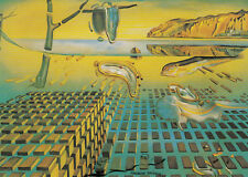 Carte d'Art: Dali-Soft Watch at the moment of First Explosion
