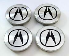 ACURA WHEEL CENTER HUB CAPS TL CL TSX MDX RDX EL RSX NEW 69mm 4pcs Set