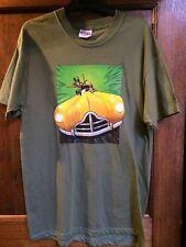 VINTAGE DC SILVER AGE GREEN ARROW T-SHIRT , SIZE M ,  Ex Shop stock