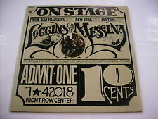 LOGGINS & MESSINA - ON STAGE - 2LP VINYL 1974 EXCELLENT CONDITION - ITALY