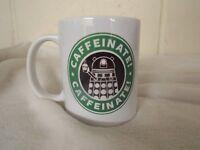 exterminate caffernate coffee dr who 11oz ceramic mug funny fathers day gift