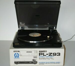 Pioneer PL-Z93 Z-Series Stereo Turntable Record Player