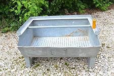 Autre caisse de rangement en métal galvanisé Design Industriel (Boîte bac usine)