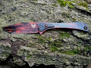 "Benchmade Knife 15200-ORG Altitude Fixed Custom Paint Fixed Blade 3.08"""