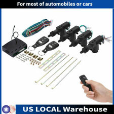 New 4 Door Power Central Lock Kitamp2 Keyless Entry Car Remote Control Conversion
