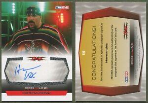 2008 TriStar - TNA - Cross the Line - Autographs - #CH1 Hernandez - AUTO