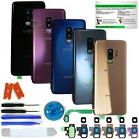 Back Glass Replacement Kit for Samsung Galaxy S9/S9+ w.CE Print+Camera lens+tool