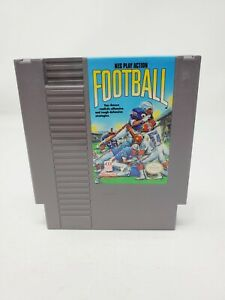 NES Play Action Football (Nintendo NES, 1990) Authentic Tested