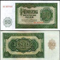 GERMANY 50 MARK 1948 P 14 AUNC