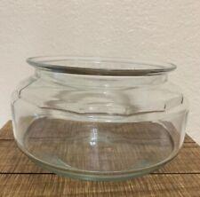 RARE Vintage Anchor Hocking 1 ~ Gallon Turtle Terrarium Fish Bowl Good Condition