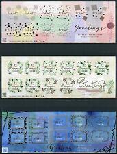 Japan 2018 MNH Greetings Celebration Designs 3x 10v M/S Plants Nature Stamps