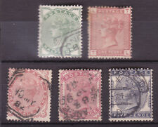 SG164-9 Provisional Issue set of Five Total  Cat £300
