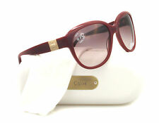 NEW Chloe Sunglasses CL 2233 Burgundy CO3 CL2233 58mm