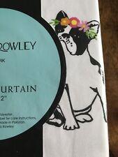 Cynthia Rowley Frenchie French Bulldog Shower Curtain 72 X 72