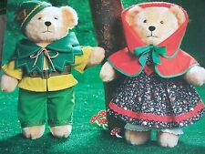 Vintage SEWING PATTERN Jean Greenhowe 4 NURSERY TALE TEDDIES Teddy Bear  TOY