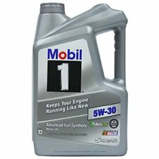 Mobil 1 120764 Synthetic Motor Oil 5W-30, 5 Quart New