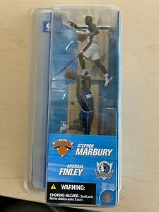 "McFarlane Toys Stephon Marbury Michael Finley 3"" figures 2-Pack Brand New 2004"
